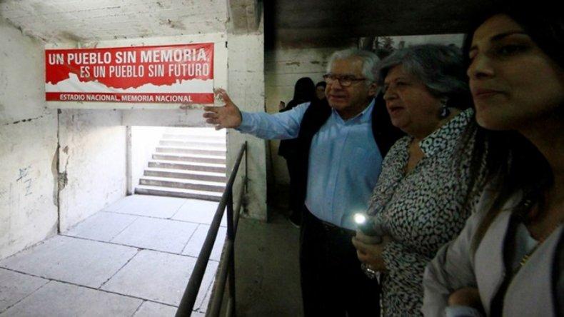 Uno de los espacios visitados ayer por los ministros de Bachelet.