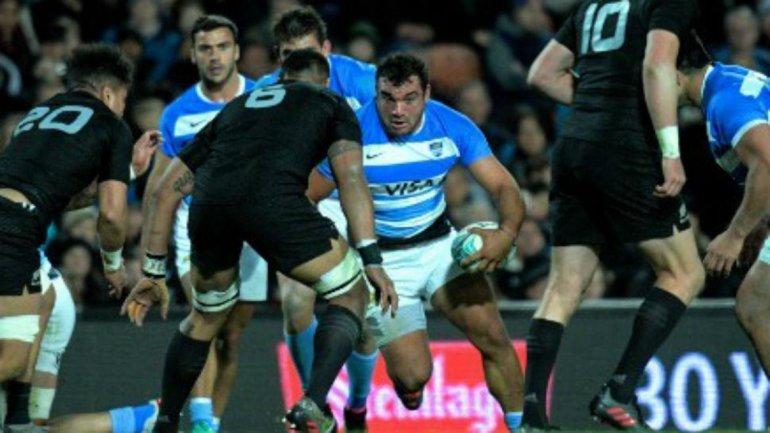 Los Pumas fueron superados por Nueva Zelanda ayer por la tercera fecha del Championship.