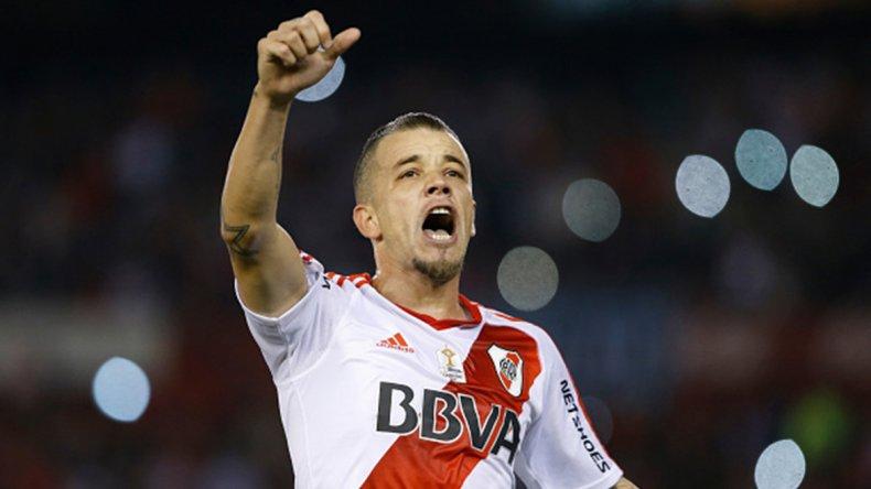 El talentoso Andrés DAlessandro se va reencontrando poco a poco con su nivel en River.