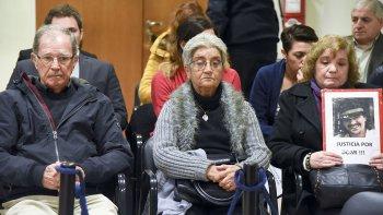 Josefa y Domingo, los padres de Domingo Expósito Moreno viajaron desde España para presenciar todo el desarrollo del juicio.