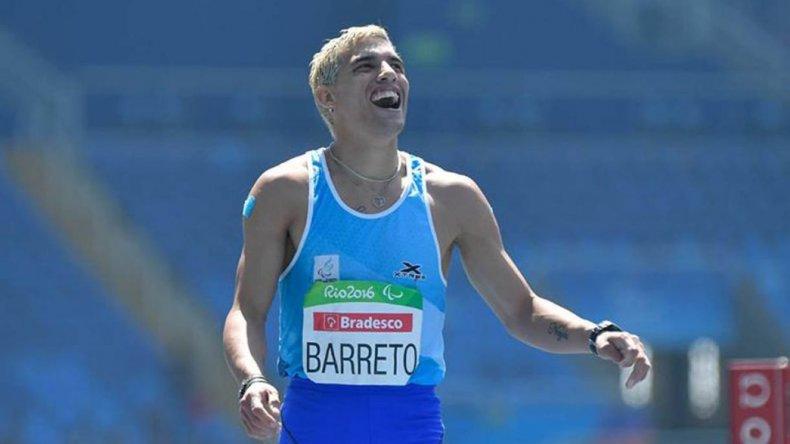 Hernán Barreto logró una nueva medalla en los Juegos Paralímpicos
