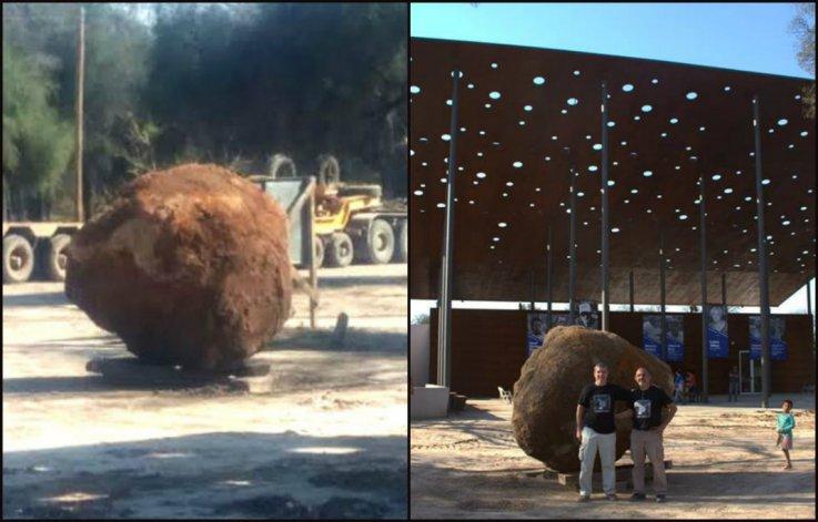 Cayó en Chaco el segundo meteorito más grande del mundo