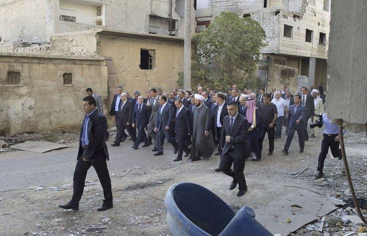 La oposición y su brazo armado aceptan la tregua en Siria.