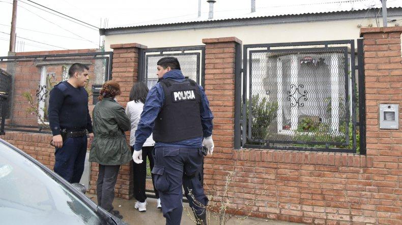 La casa en donde Soria provocó la masacre. Foto: El Patagónico.