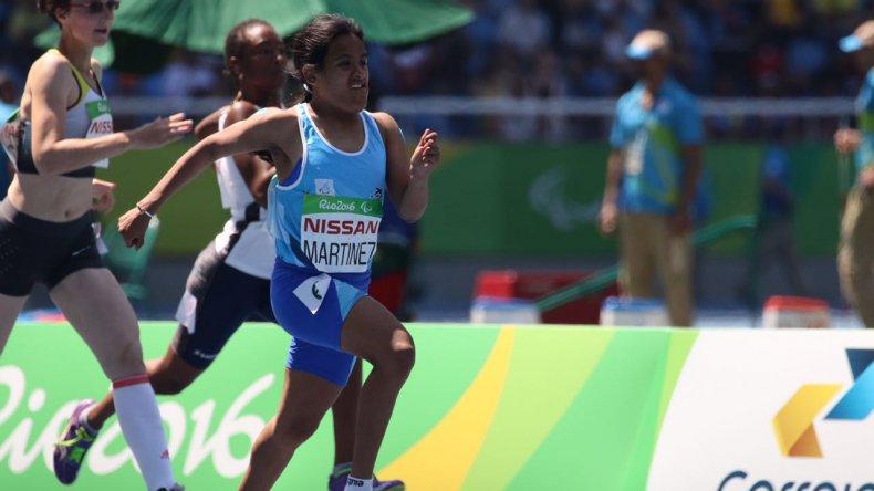 Yanina quedó a las puertas de otra medalla