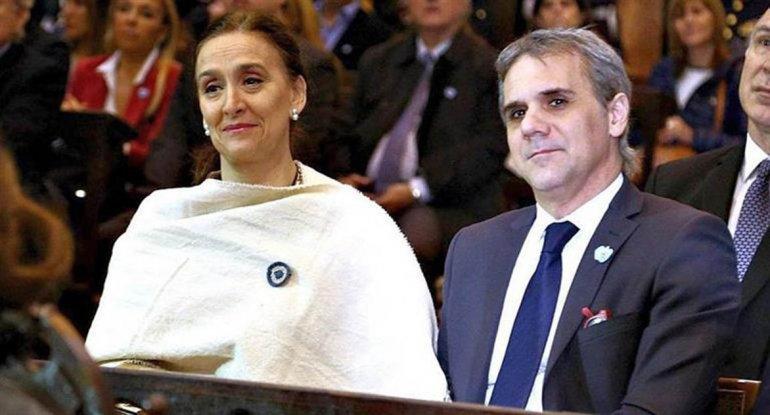 Gabriela Michetti y su novio