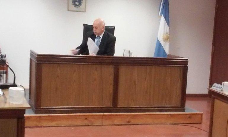 El juez penal Daniel Camilo Pérez está a cargo de la causa.