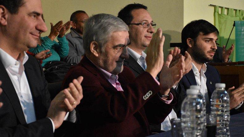 El gobernador Mario Das Neves compartió ayer un encuentro con el titular del PAMI
