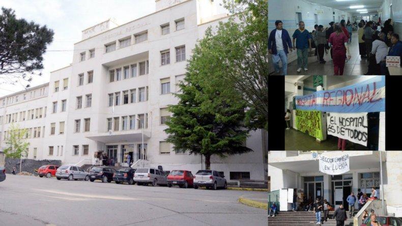 Trabajadores del Hospital preocupados por sueldos adeudados, falta de insumos y personal