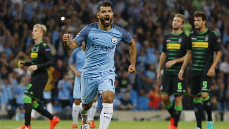 El City arrancó con una goleada que tuvo como protagonista al Kun