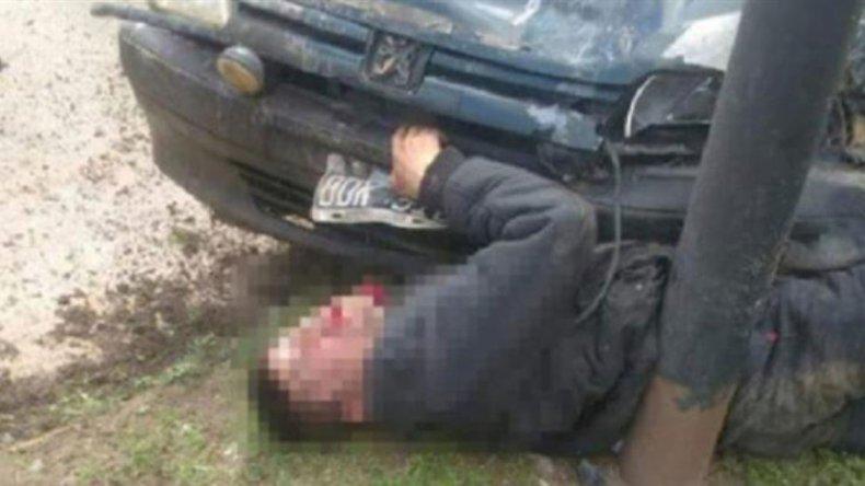 Un carnicero persiguió y mató a uno de los dos delincuentes que instantes antes habían entrado a robar a su comercio.