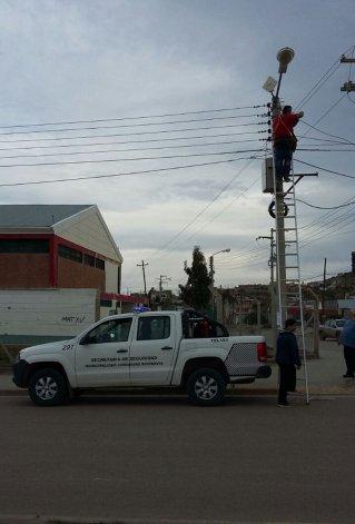 La próxima semana comienzan a reparar las cámaras en Comodoro