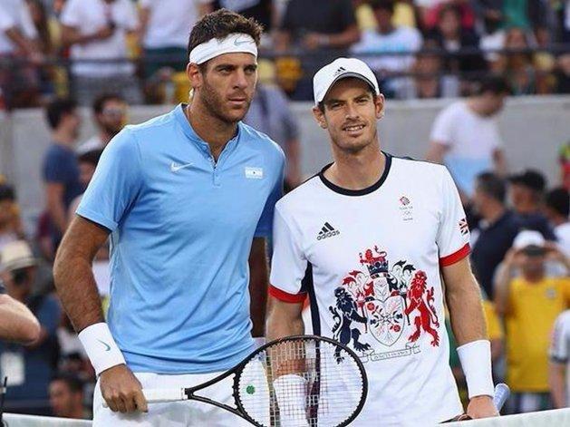 Del Potro y Murray abren mañana la serie de semifinales