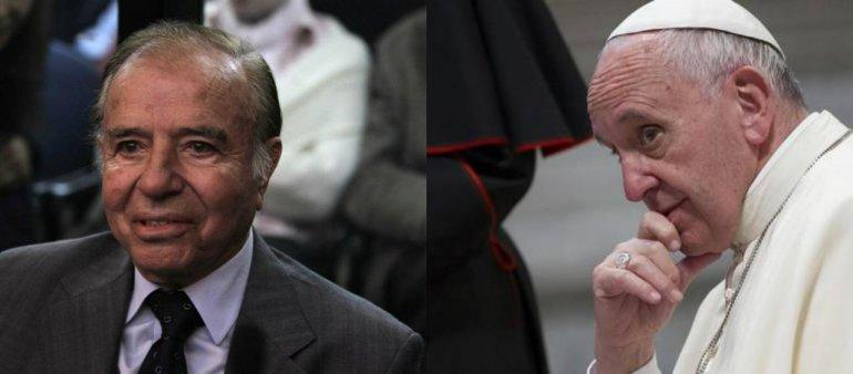 El Papa recibirá a Carlos Menem