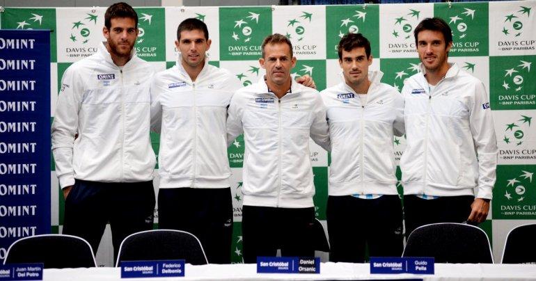 El equipo argentino de Copa Davis que comenzará a buscar la final de un torneo que nunca pudo ganar.