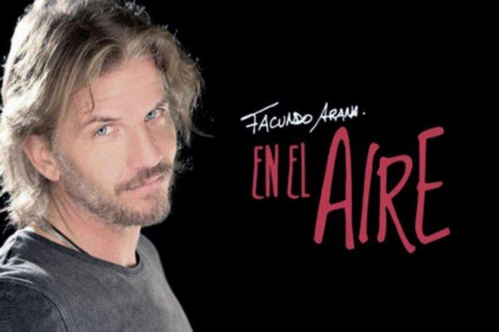 El actor presenta su nuevo disco.