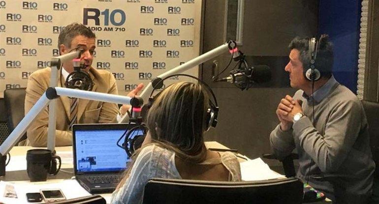 El juez Rafecas en el estudio de Radio 10