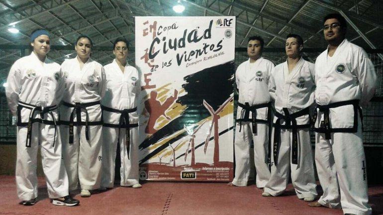 El taekwondo tendrá una importante cita mañana en el gimnasio municipal 1.