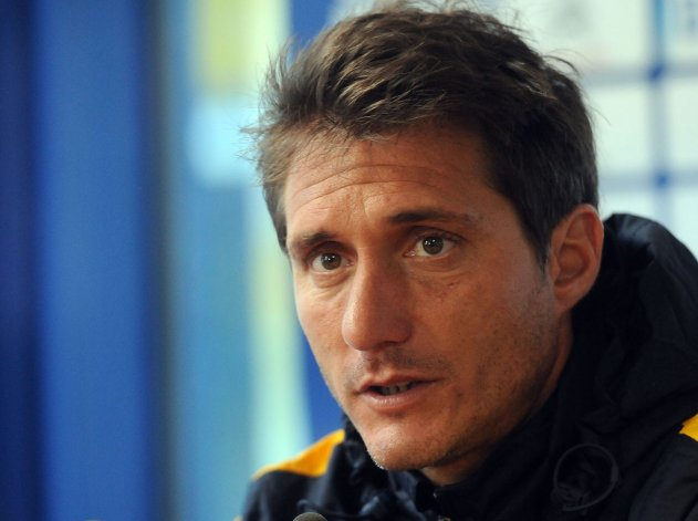 Guillermo Barros Schelotto prepara la estrategia para irse ganador el domingo de Mendoza.