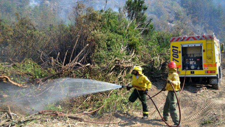 Provincia sancionará rigurosamente a los autores de incendios forestales
