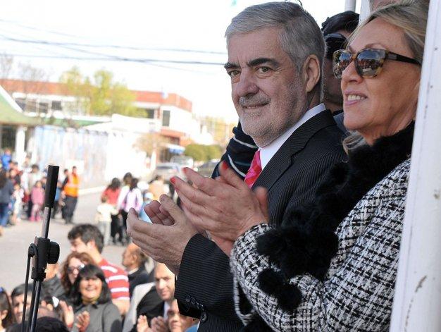 Acompañado por la intendente Rossana Artero