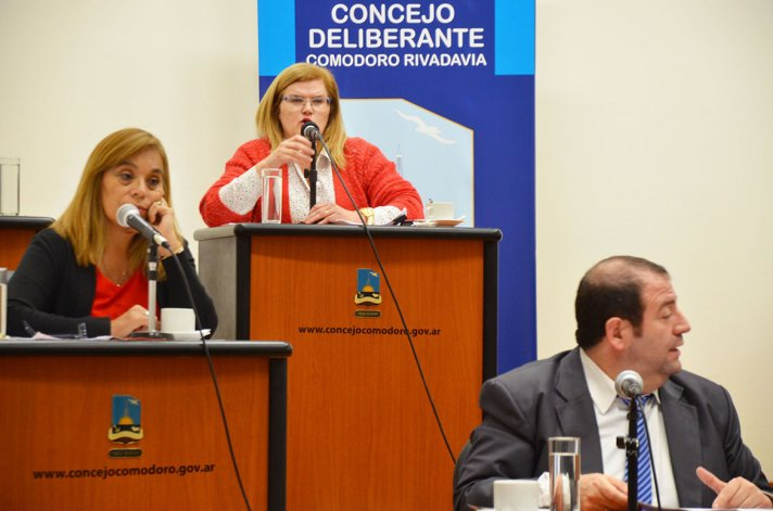 Los planteos de la concejal Norma Contreras hicieron más extensa de lo necesario una sesión que comenzó demorada.
