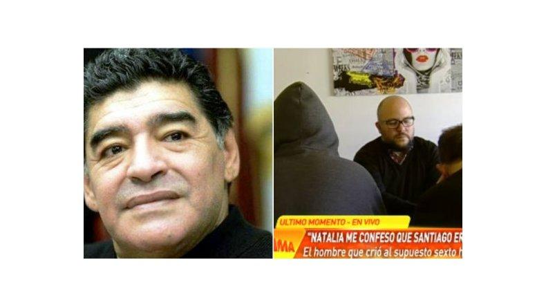 Habló en vivo el supuesto hijo de Maradona: Me veo parecido, por los rulos y la cara