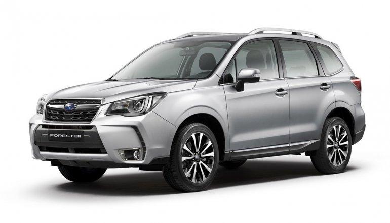 Lanzamiento: Subaru Forester 2016