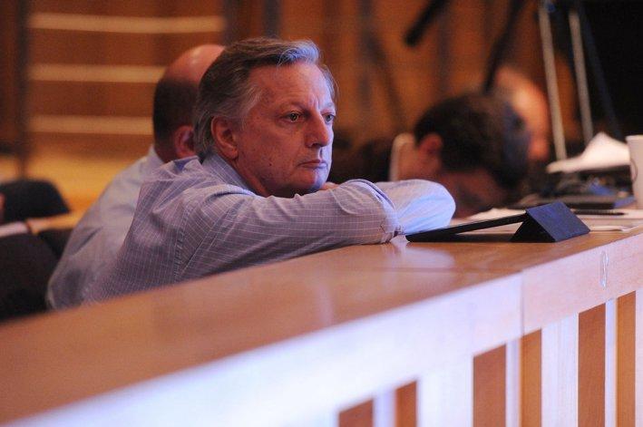 Aranguren en la audiencia pública por la suba de las tarifas de gas.