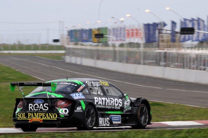 El Volskwagen de Juan Bautista De Benedictis que ayer fue el más veloz en el autódromo de Concepción del Uruguay