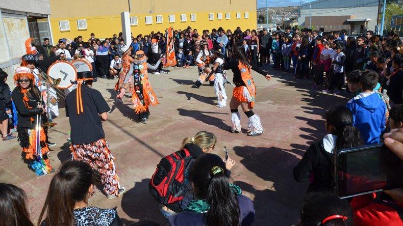 La Escuela 737 Soldado Mario Almonacid realizó actividades en homenaje a una de sus profesoras fundadoras: Magdalena Elizabet Baigorria.