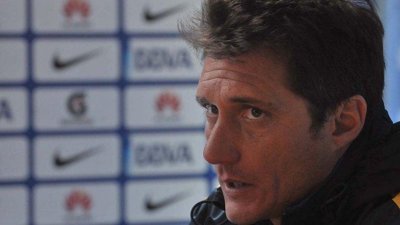 Guillermo Barros Schelotto no quiso confirmar el equipo que visitará mañana a Godoy Cruz.