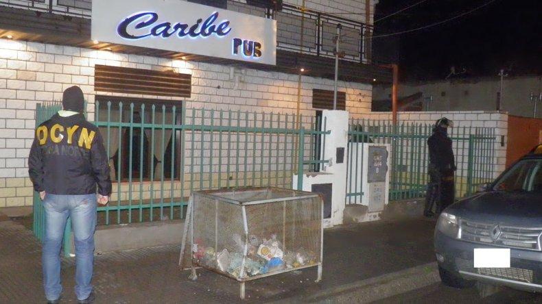El pub Caribe