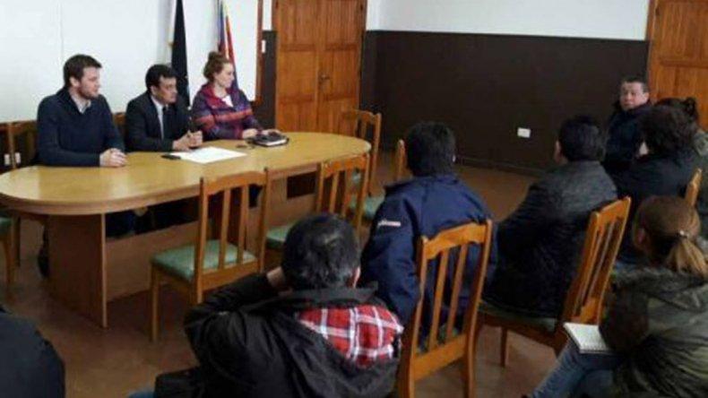 La reunión con empresarios fue encabezada por el intendente Gustavo González