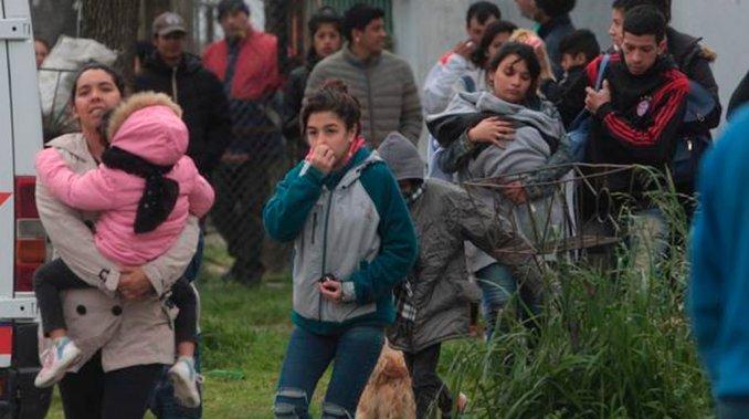 Fatal escape de gas en La Plata: murió una persona y decenas fueron evacuadas