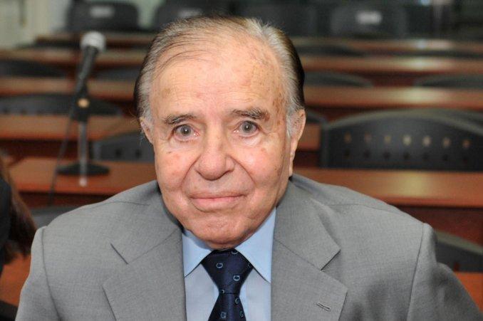 Menem reveló por qué se bajó de la segunda vuelta contra Kirchner