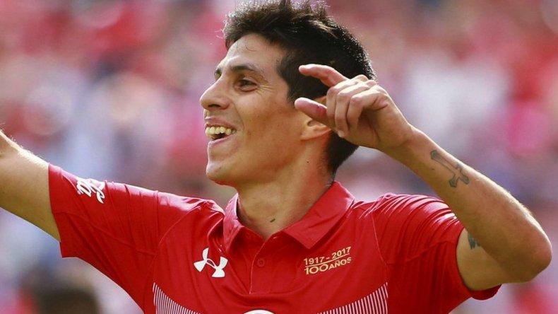 Pitu Barrientos convirtió su primer gol en el Toluca