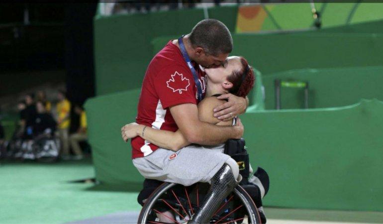 La foto que enterneció a todo el mundo en los Juegos Paralímpicos