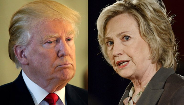 Trump y Clinton oponen visiones sobre la seguridad de Estados Unidos.