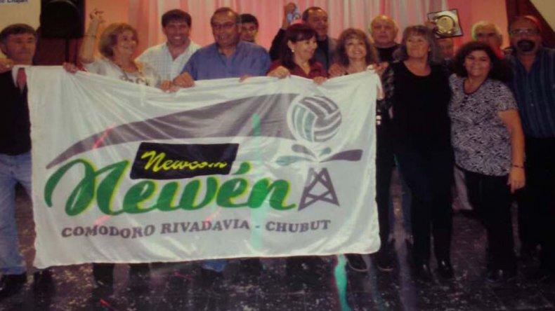 El equipo Newén es uno de los organizadores.