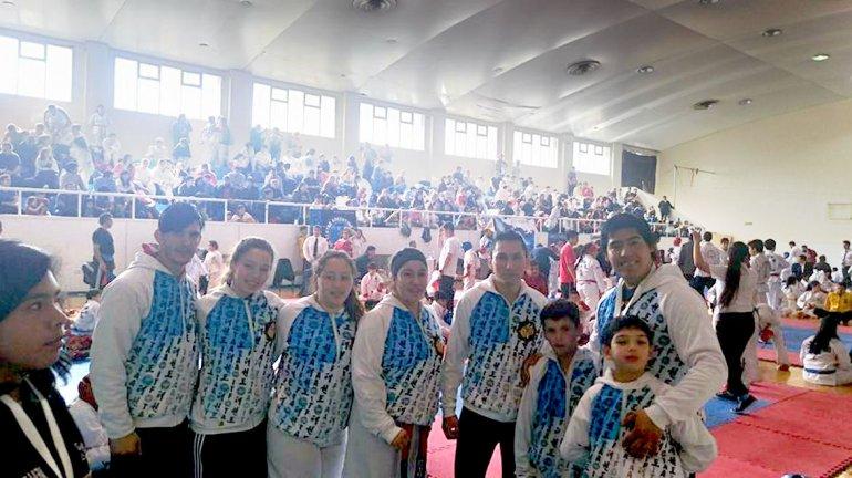 La Copa Capital del Viento de Taekwondo se llevó a cabo este sábado en el municipal 1.