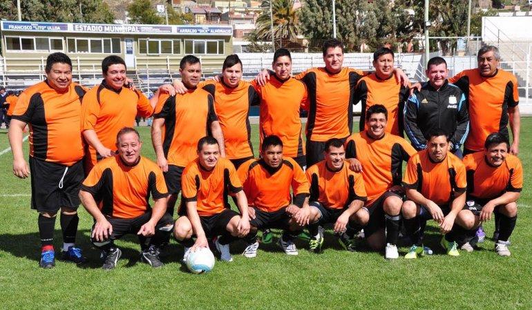 Se puso en marcha el Torneo de Futbol Policial Oficial Simón Saiegg