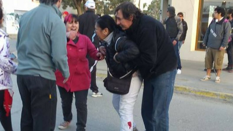 El pedido de justicia por la muerte de Gerez terminó de forma violenta