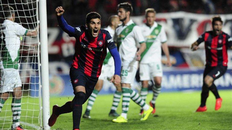 San Lorenzo clasificó a octavos de la Copa Sudamericana tras golear 4-1 a Banfield