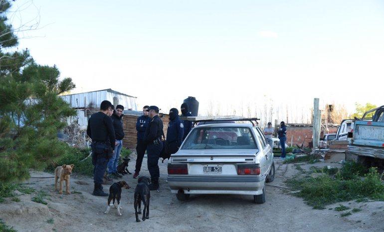 Emanuel Medina fue detenido el martes en la finca donde vivió Claudio Boz en los últimos meses.