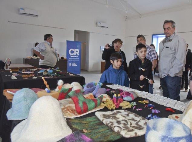Quedó inaugurado el Centro Cultural de Caleta Córdova. Foto: Martín Pérez / El Patagónico.