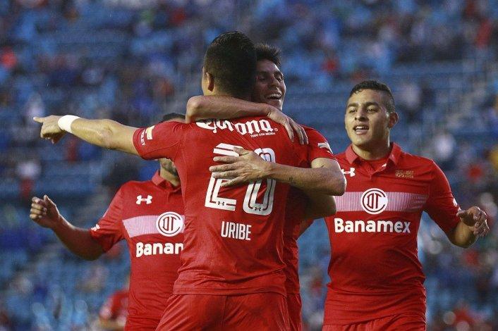 Pitu Barrientos le dio el triunfo a su equipo ante el Cruz Azul