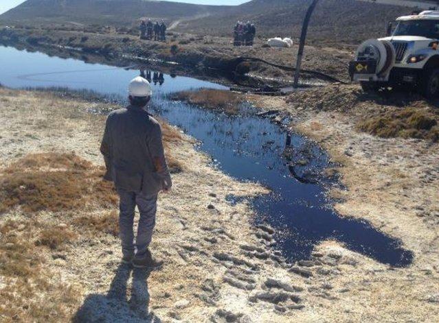 Se produjo un derrame en Cerro Dragón y ya se trabaja en la remediación