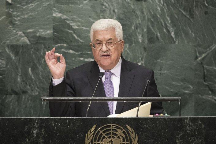 Abbas desafió al gobierno de Israel a responder si desea un solo Estado o no.