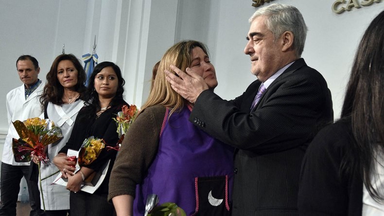 Buenos Educadores del Chubut fueron distinguidos por el gobernador Mario Das Neves.
